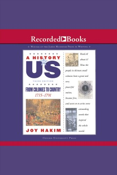 Catalog - From colonies to country 1735-1791